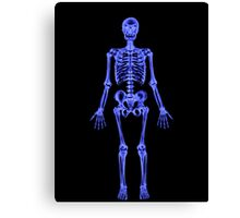 XRAY (Skeleton) iPhone Case Canvas Print
