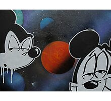 space cadet mickey Photographic Print