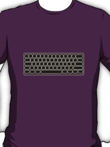 COMPUTER KEYBOARD BLACK T-Shirt
