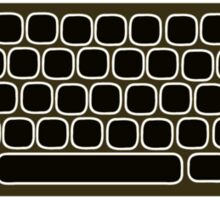 COMPUTER KEYBOARD BLACK Sticker