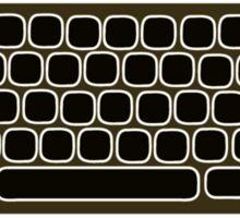 COMPUTER KEYBOARD BLACK Sticker