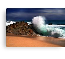Cabo Surf Canvas Print