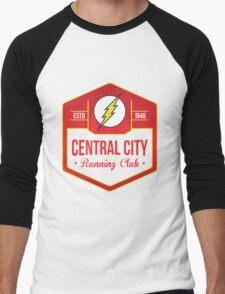 Central City Running Club Color Men's Baseball ¾ T-Shirt