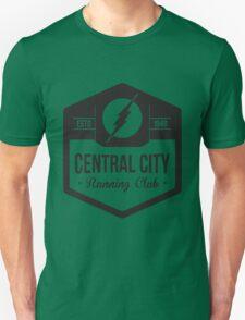 Central City Running Club Black Unisex T-Shirt
