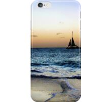 Sailng Through the Sunset iPhone Case/Skin