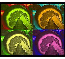 Lime Art Photographic Print