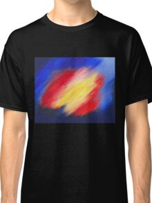Abstract colorful acrylic painting Classic T-Shirt