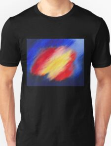 Abstract colorful acrylic painting T-Shirt