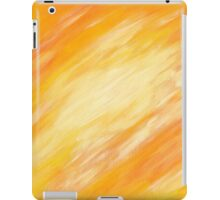 Abstract colorful acrylic painting iPad Case/Skin