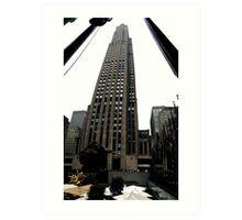 30 Rockefeller Center Art Print