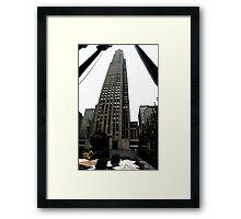 30 Rockefeller Center Framed Print