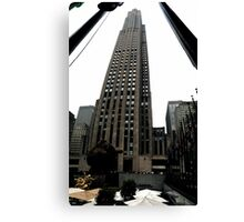 30 Rockefeller Center Canvas Print