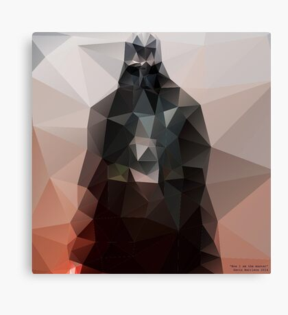 """I am the master"" Canvas Print"