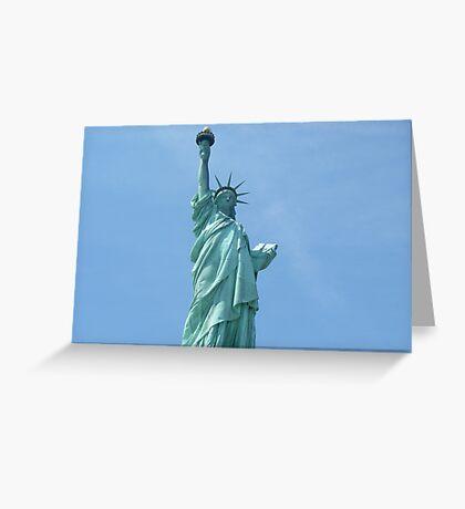 Statue of Liberty - Closeup      Greeting Card