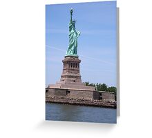Statue of Liberty - Full View     Greeting Card