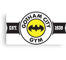Batman - Gotham City Gym Canvas Print