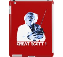 Back to the future - Great Scott ! iPad Case/Skin