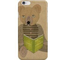 How to be a teddy bear iPhone Case/Skin
