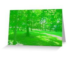 What is Making the Green Trees Cry? Greeting Card