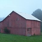 red barn by peggywright