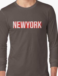 NEW YORK red/white T-Shirt