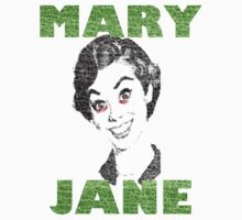 Sweet Mary Jane T-shirt by jimmy-rage