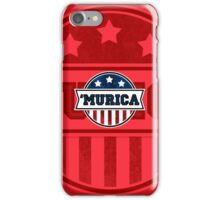 'MURICA T-Shirt. America. Jesus. Freedom. - The Campaign iPhone Case/Skin