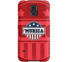 'MURICA T-Shirt. America. Jesus. Freedom. - The Campaign Samsung Galaxy Case/Skin