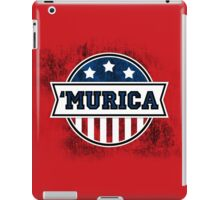'MURICA T-Shirt. America. Jesus. Freedom. - The Campaign iPad Case/Skin