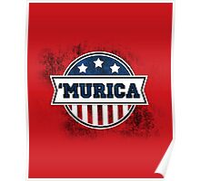 'MURICA T-Shirt. America. Jesus. Freedom. - The Campaign Poster