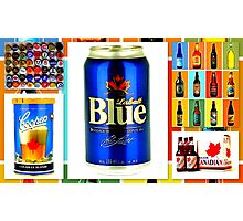 Canadian Beer Collection Photographic Print