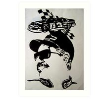 Dale Earnhardt Jr. Art Print