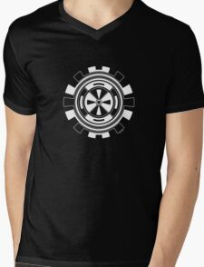 Mandala 11 Simply White Mens V-Neck T-Shirt