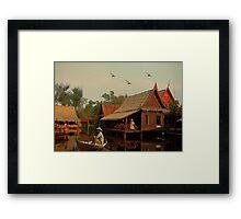 The Fisherman... Framed Print