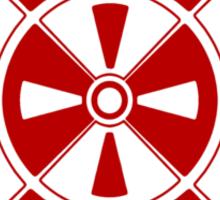 Mandala 11 Colour Me Red Sticker