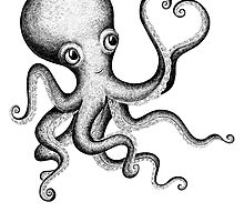Octopus by Eugenia Hauss