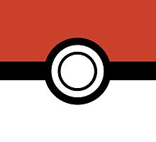 Pokemon Pokeball Inspired iPhone and iPad Case by robbclarke