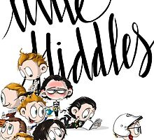 Little Hiddes Title Art by HashGenius