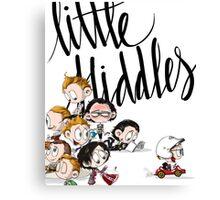 Little Hiddes Title Art Canvas Print