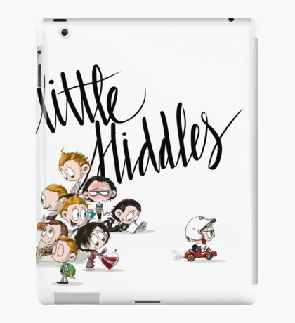 Little Hiddes Title Art iPad Case/Skin