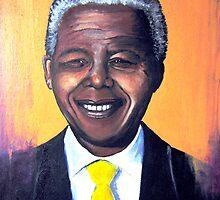 Nelson Mandela by Louise Henning