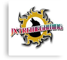 JxtremeGaming Logo2 Canvas Print