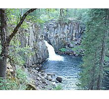 McCloud River, CA, Lower Falls Photographic Print