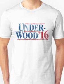 Underwood '16 (distressed style) T-Shirt