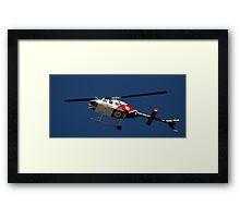 University of Utah - Air Med Helicopter Framed Print