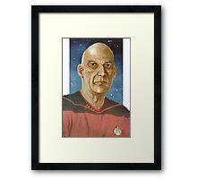 "Captain ""Woodie"" Picard Framed Print"