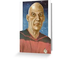 "Captain ""Woodie"" Picard Greeting Card"
