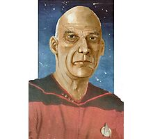 """Captain """"Woodie"""" Picard Photographic Print"""