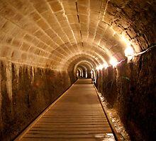 The Templars Tunnel Acre Israel by Moshe Cohen