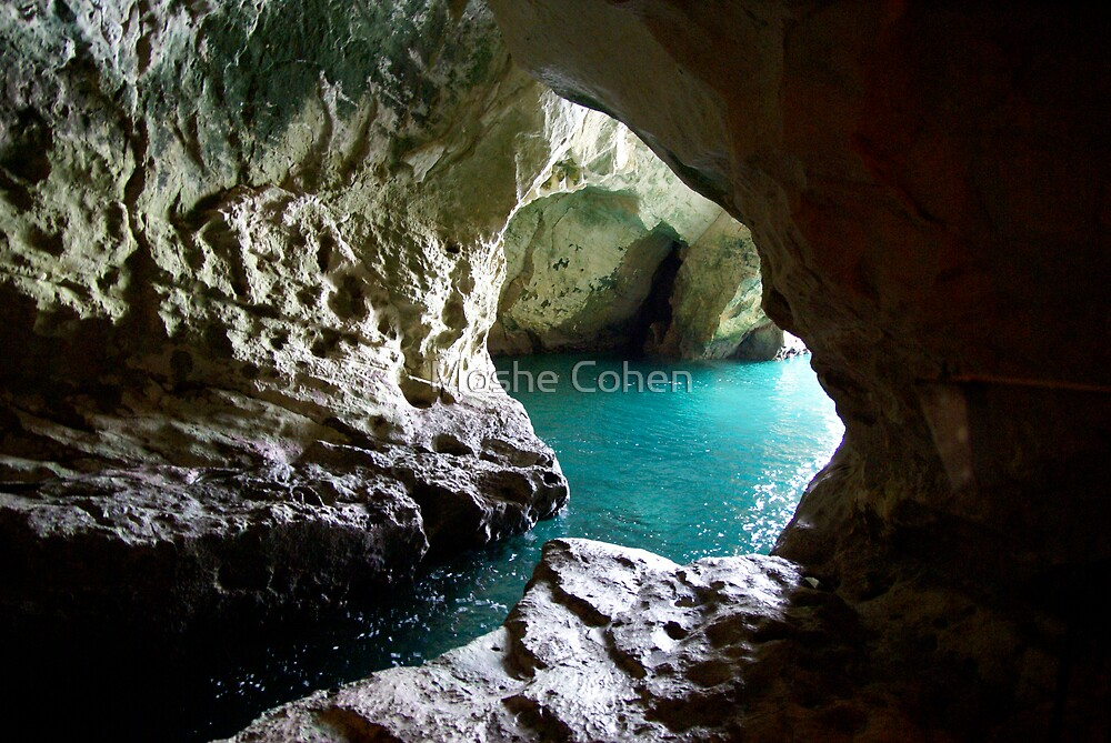 Rosh Hanikra Israel by Moshe Cohen